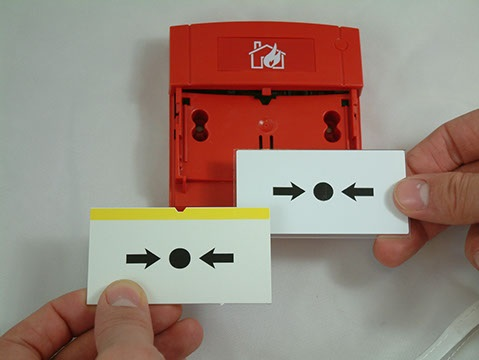 KAC MCP3A-R000SG-STCK-01 Conventional Fire Manual Call Point Surface Mounted MCP