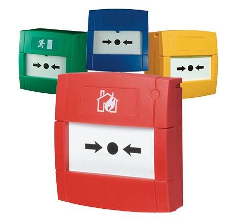 MCP3A-Y000SG-K013-11, KAC, Systèmes conventionnels, Incendie, Contact : Simple inverseur, Indice de protection IP : 24D, Montage : Apparent, Couleur : Jaune, Pictogramme : Sans,