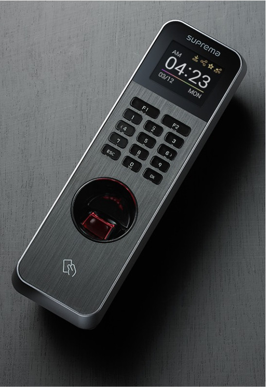 BLN2-ODB, SUPREMA, Biometric readers, Access Control, Biometric identification : Fingerprint, Wiegand interface : 1x In or Out, Power supply : 12VDC, BioStar software compatibility : From BioStar 2.x, Max users [1:1] : 10000, IP Ethernet : RJ45 - Min. Cat 5 - 10/100 Base T,