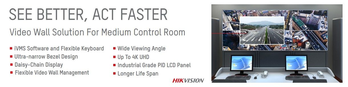 Hikvision Video Wall Solution