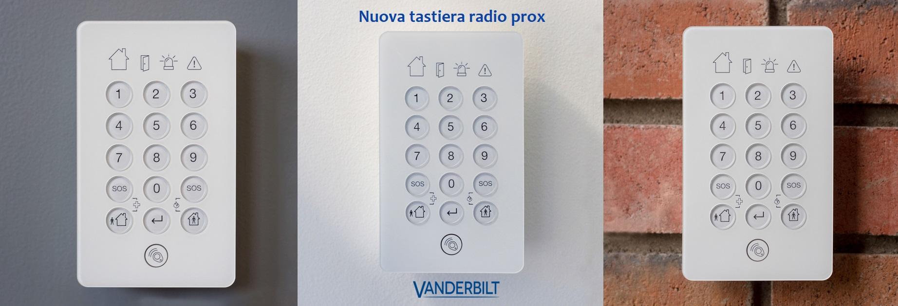 VANDERBILT New wireless keypad