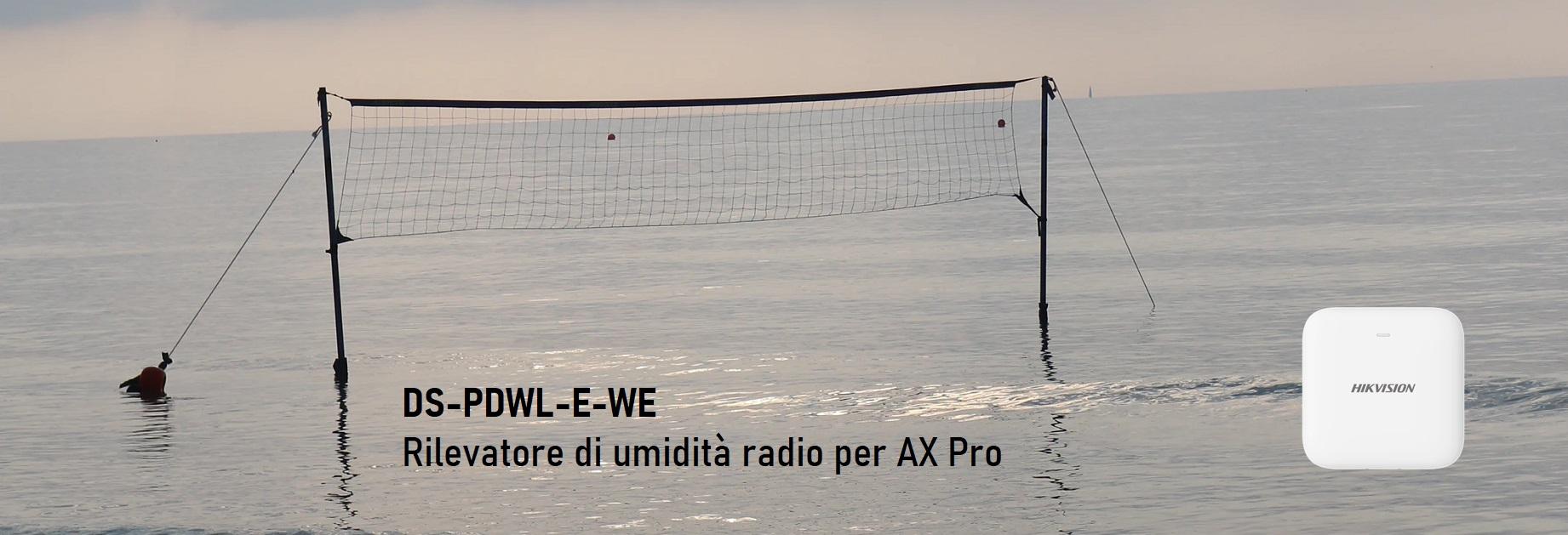 DS-PDWL-E-WE Rilevatore di perdite d'acqua radio per AX Pro