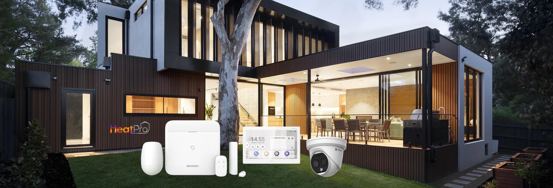 Kit Hikvision AX Pro + HeatPro