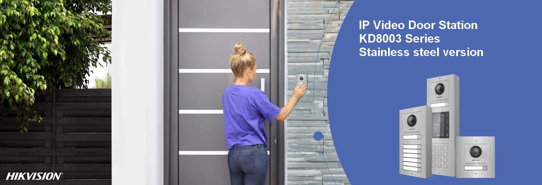 HIKVISION IP Video Door Station inox