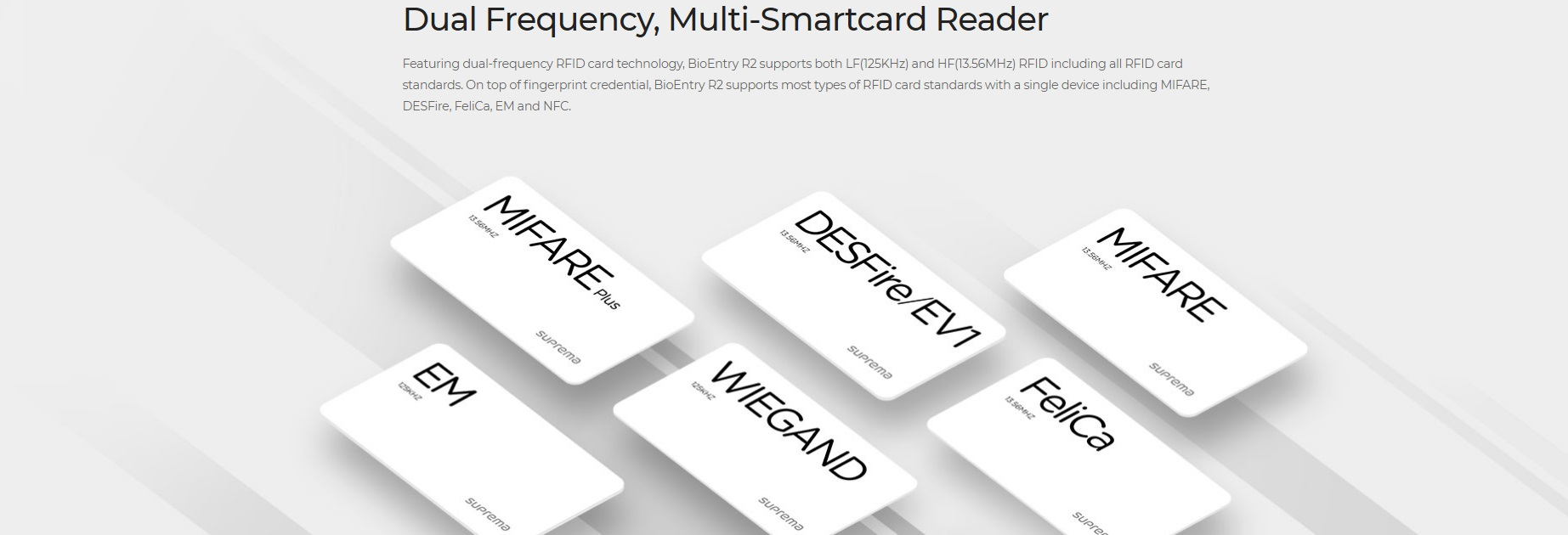 Suprema Smart Card Reader