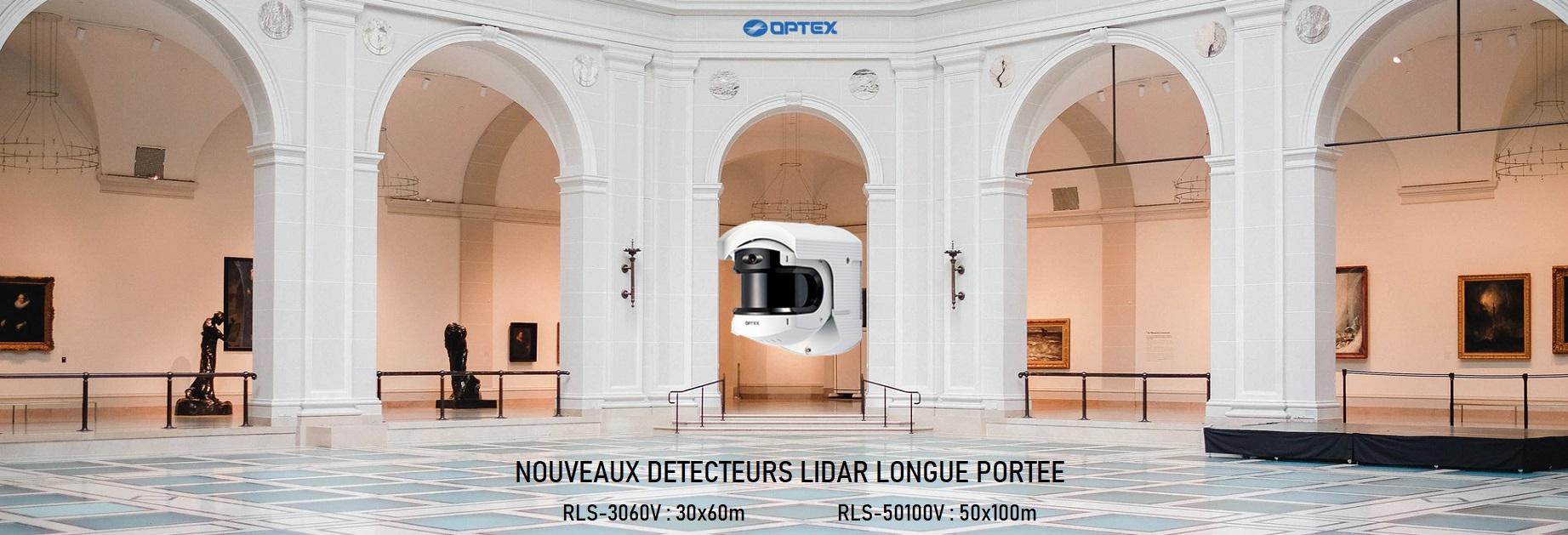 OPTEX RLS-50100V RLS-3060V LIDAR