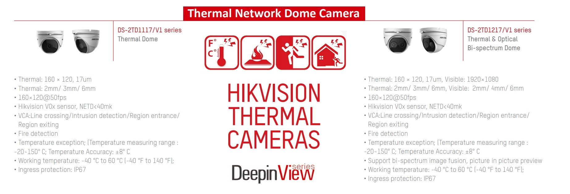 HIKVISION THERMAL DOME CAMERA