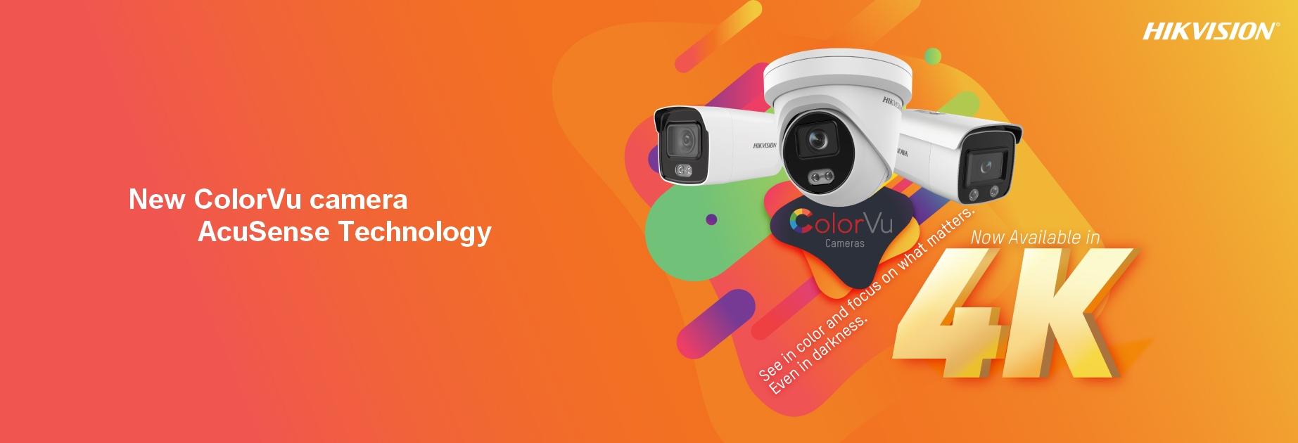 HIKVISION New ColorVu cameras