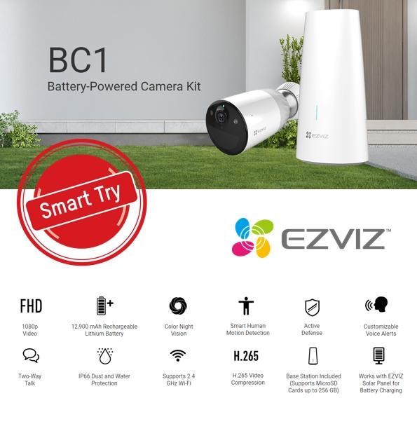 EZVIZ BCI-B1 SEPTEMBER SMART TRY
