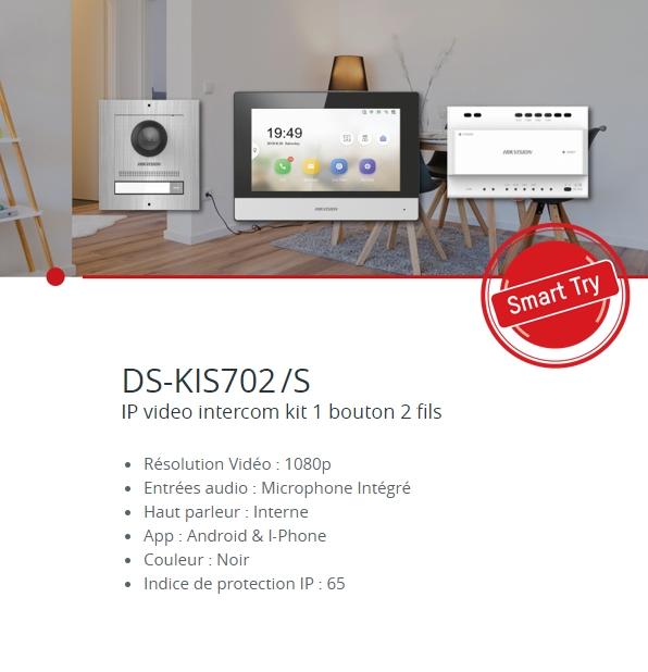 HIKVISION DS-KIS702 SEPTEMBER SMART TRY