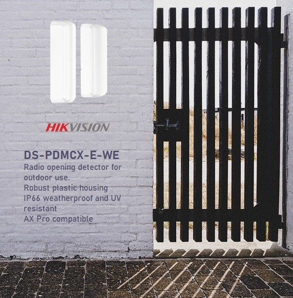 Hikvision AX Pro outdoor wireless contact DS-PDMCX-E-WE