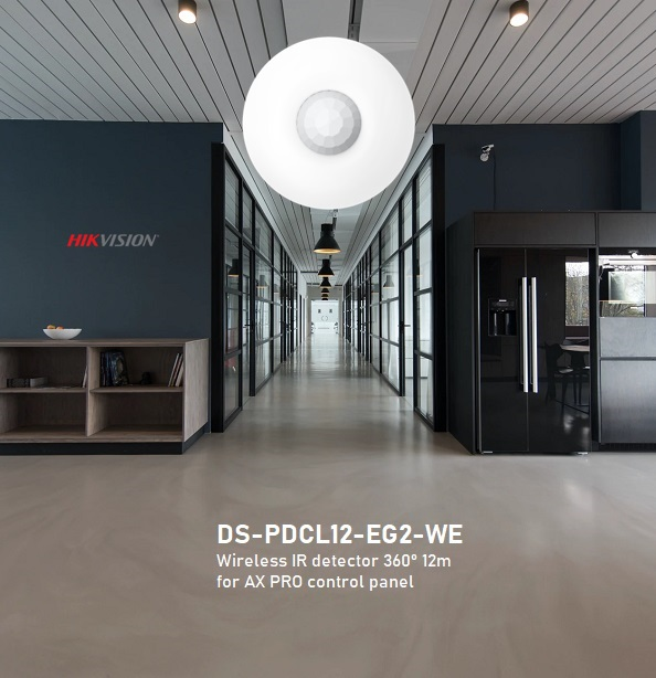 DS-PDCL12-EG2-WE Wireless IR 360° 12m