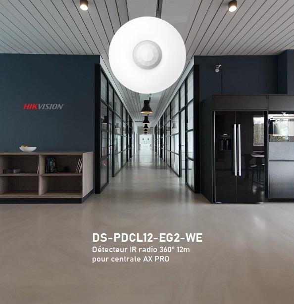 IR 360° radio pour centrale Hikvision AX Pro