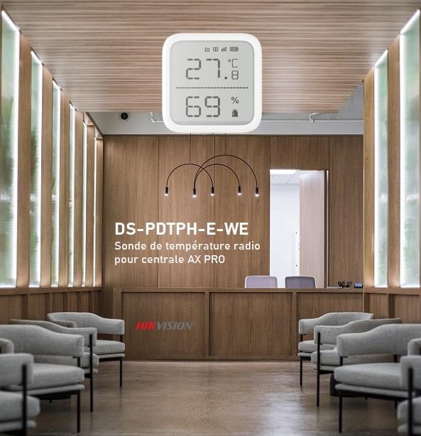 Sonde de température et d'humidité pour centrale Hikvision AX Pro
