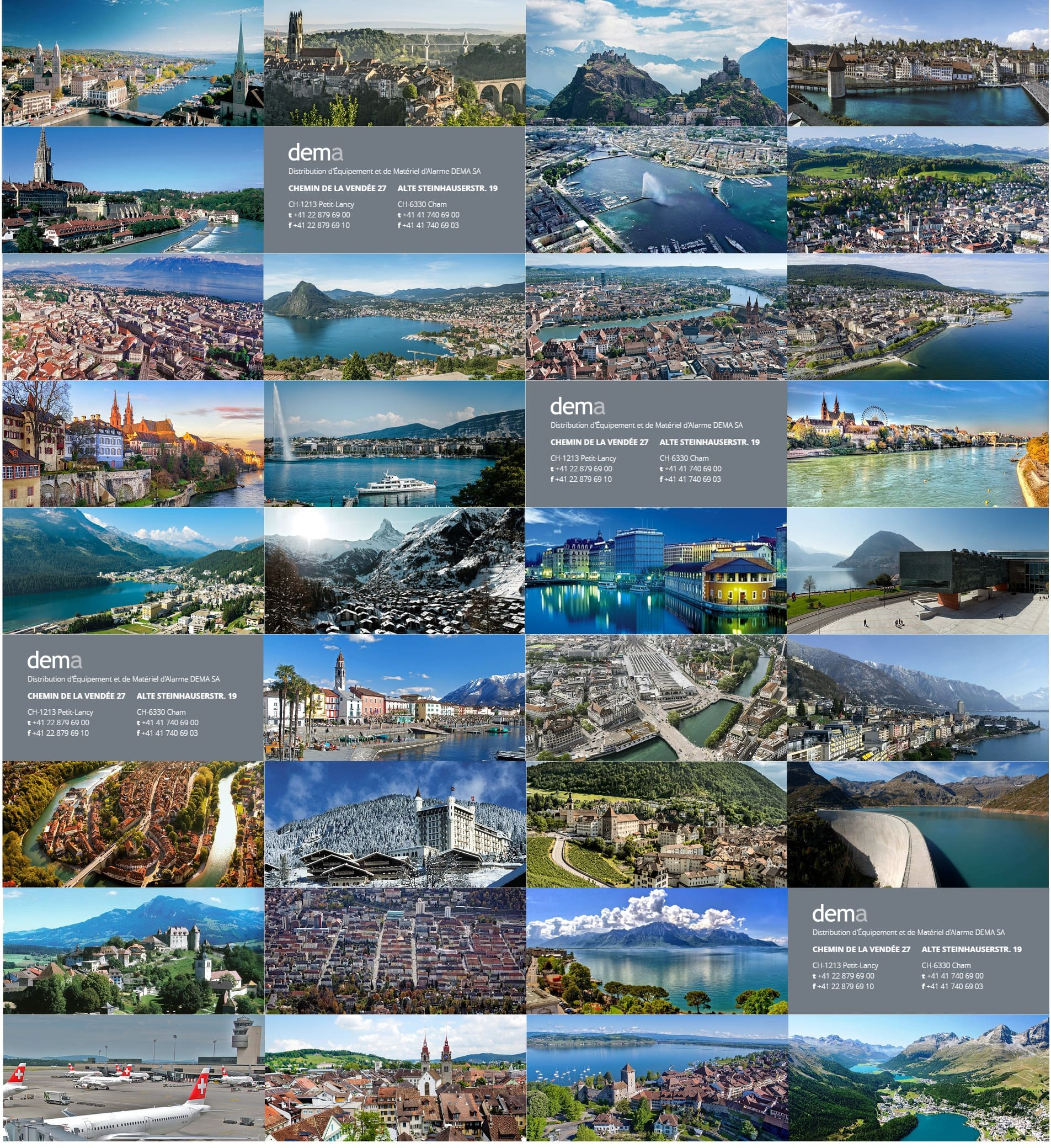 Switzerland places